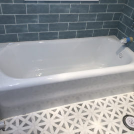 bathtub tub refinishing reglazing