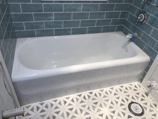 bathtub tub refinishing reglazing